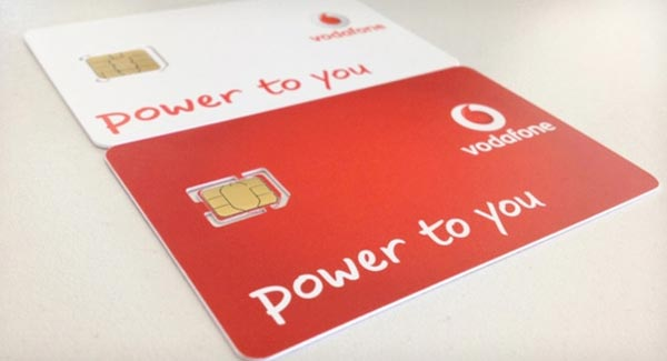 Nano SIM Vodafone