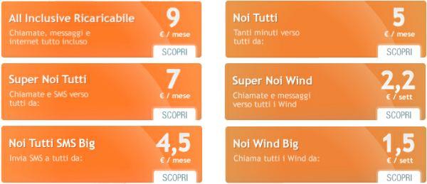 Wind nuovo sito e tariffe piu 39 convenienti for Cellulari 150 euro