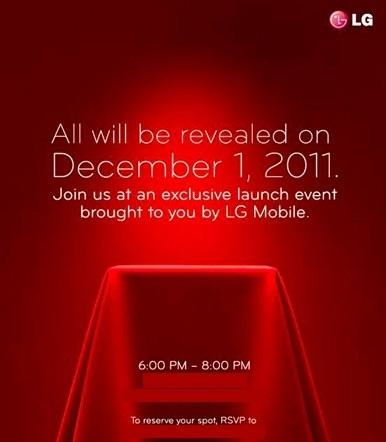 LG evento 1 dicembre 2011