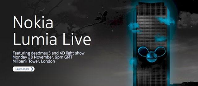 Nokia evento 28 novembre 2011