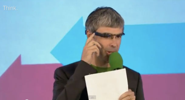 Larry Page Google Glass