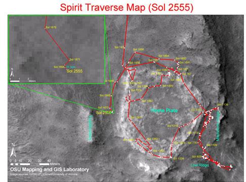 Spirit NASA