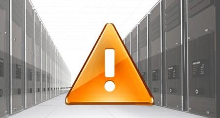 Aruba Server down