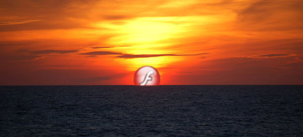 Adobe tramonto Flash