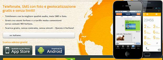 Forfone per iOs e Android