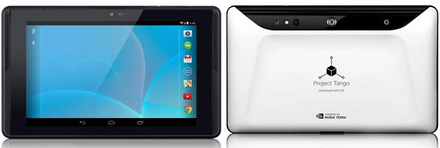 Kit di sviluppo per tablet Project Tango