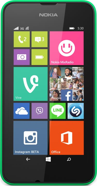 Nokia Lumia 530 Windows Phone OS