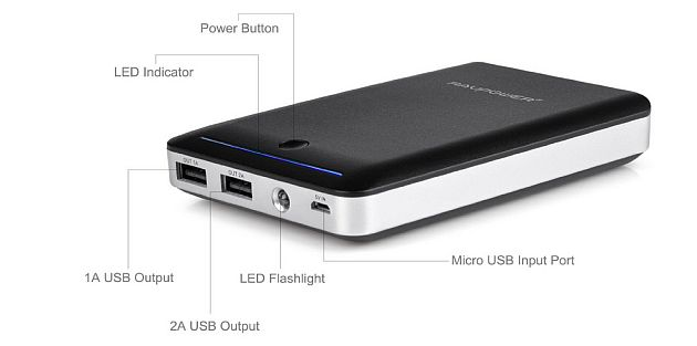 Rav Power 14.000 mah