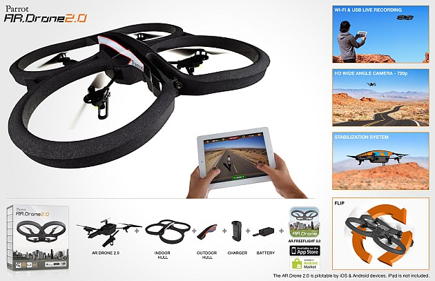 Drone Parrot AR Drone