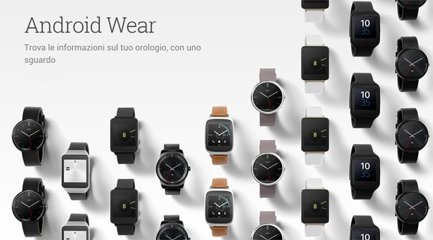 Google Store - Android Wear