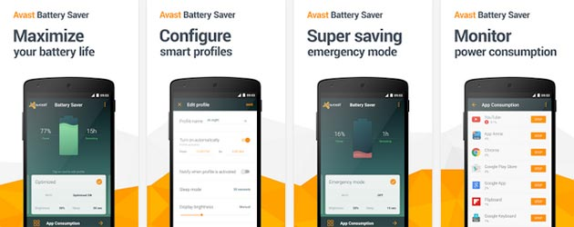 Avast Battery Saver - Screenshots