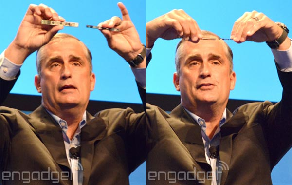 Brian Krzanich all' IDF 2015 in Shenzhen