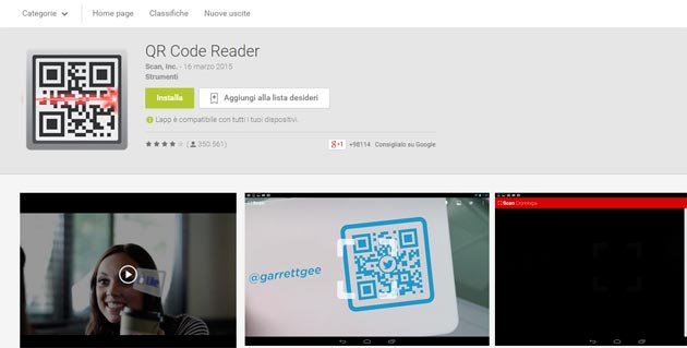 QR Code Reader - Android