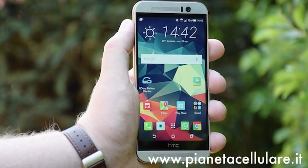 Display HTC One M9