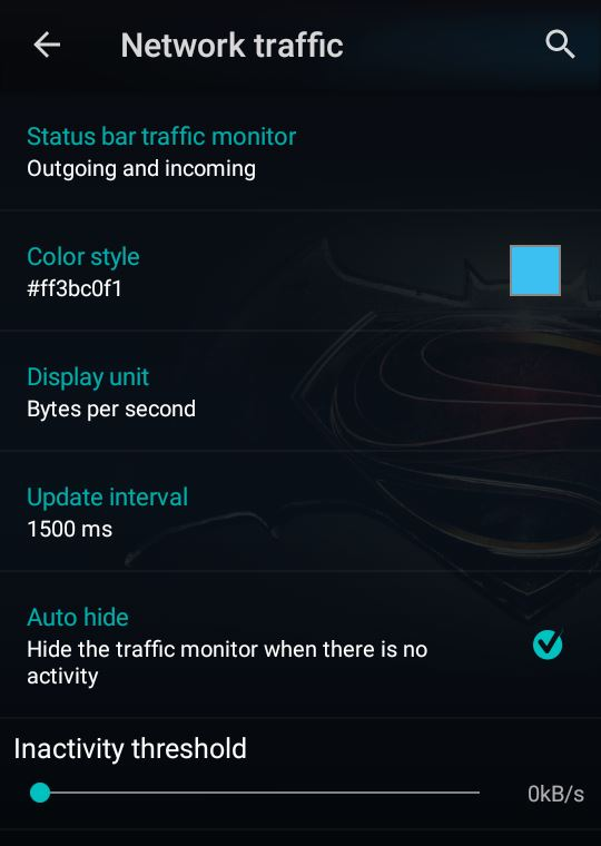 Network traffic CM 12.1