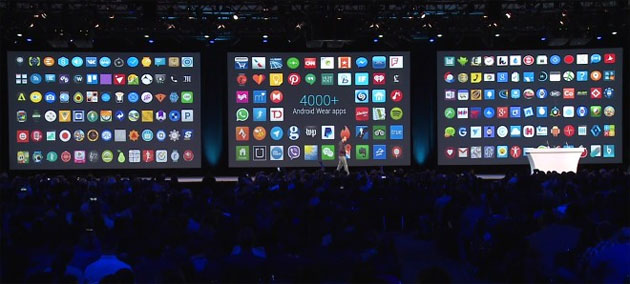 Android Wear - 4000 apps