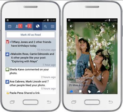 Facebook Lite disponibile su Android, risparmio banda e app veloce