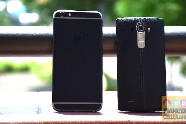 Apple iPhone 6 Plus vs LG G4