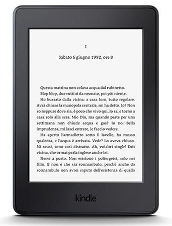 Amazon nuovo Kindle Paperwhite