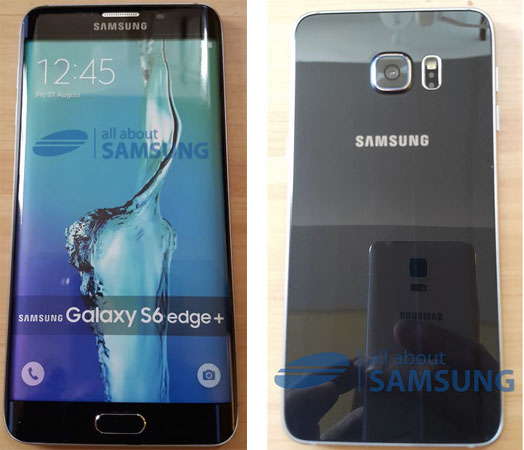 Samsung Galaxy S6 Edge Plus - fronte e retro