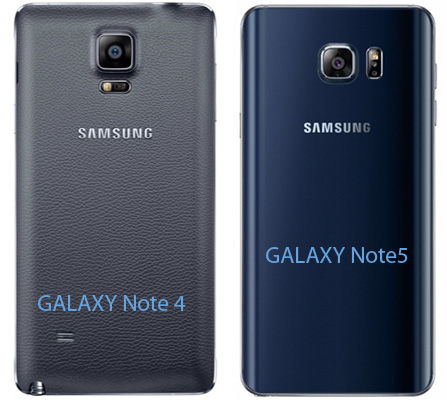 Samsung Galaxy Note 5 vs Note 4 - RETRO