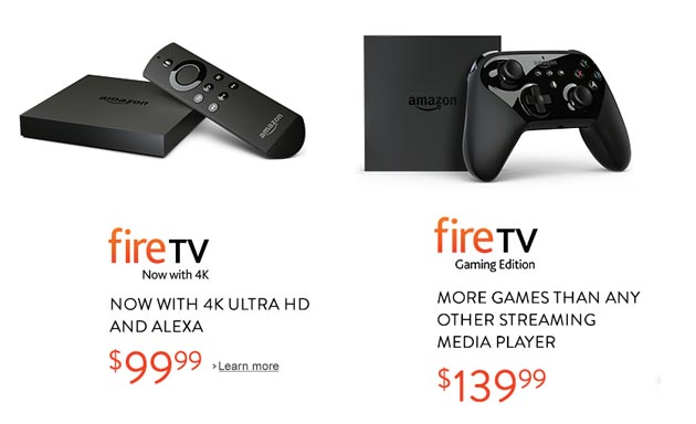 Amazon Fire TV edizione 2015