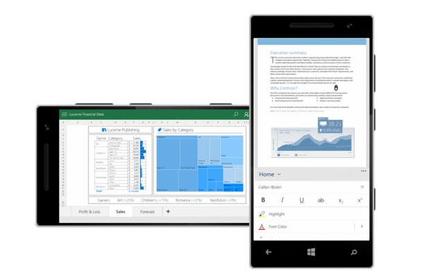 Office 2016 e Windows 10