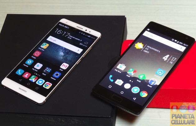 Huawei Mate S vs OnePlus 2