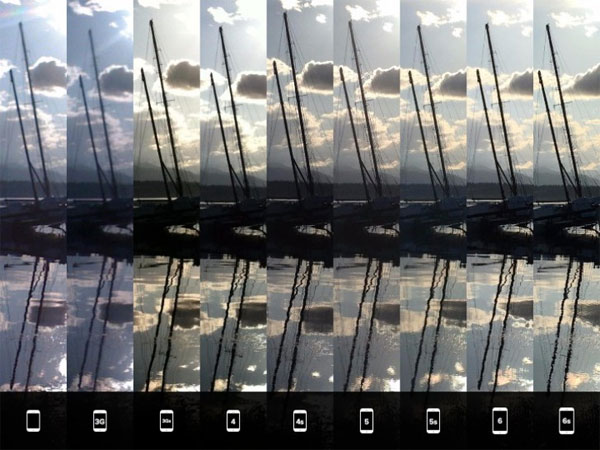 Apple iPhone - iPhone 6s: fotocamere a confronto
