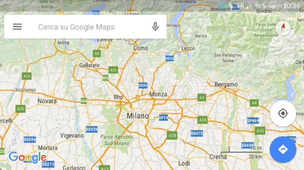 Google Maps su Android