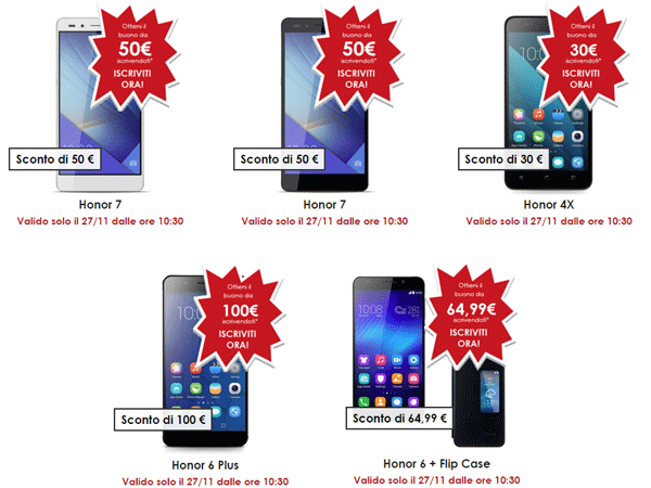 Honor Black Friday 2015