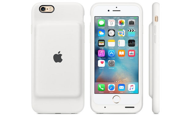 Apple Smart Battery Case per iPhone 6s (bianca)
