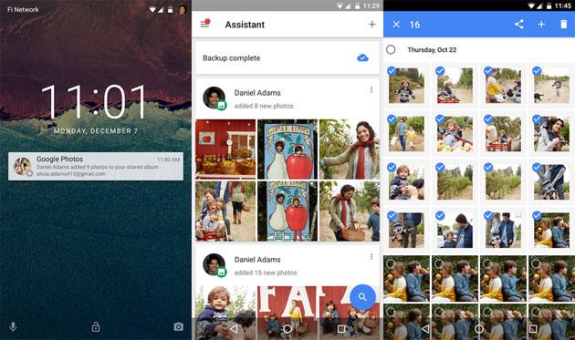 Google Photos presenta gli smart album