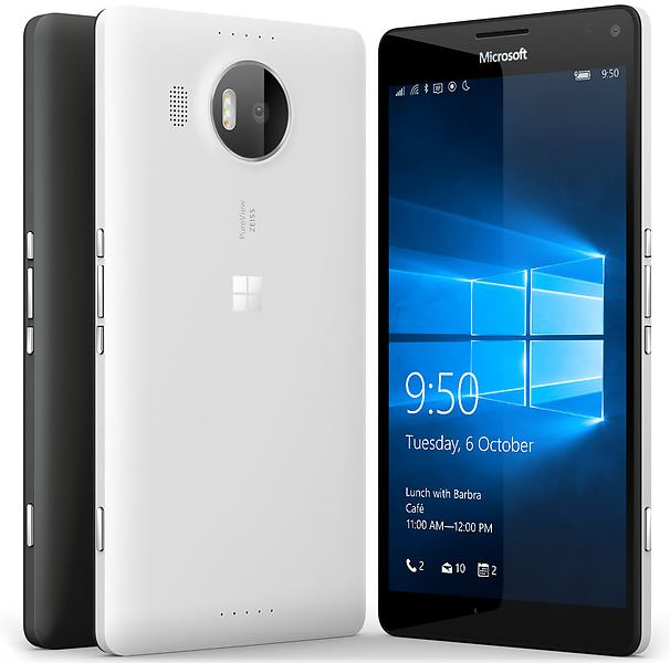 Microsoft Lumia 950 XL con Windows 10 Mobile
