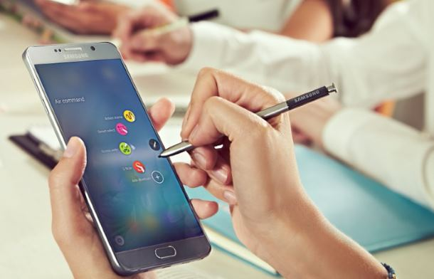 Galaxy Note 5 e S-Pen