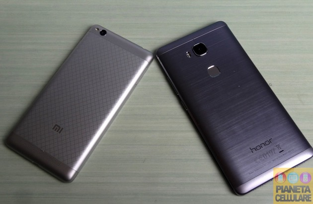 Xiaomi Redmi 3 vs Honor 5X
