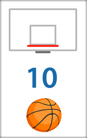 minigioco di Basket in Facebook Messenger