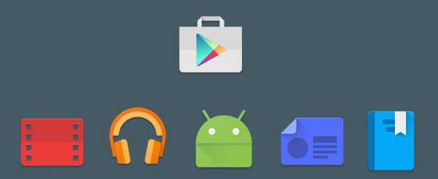 Google Play apps - icone superate