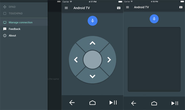 Android TV per iOS