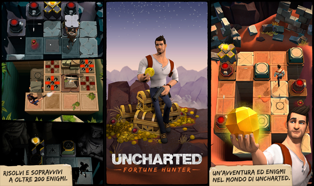 Uncharted Fortune Hunter per Android