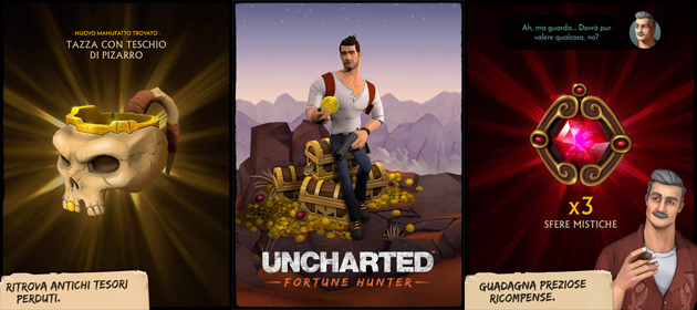 Uncharted Fortune Hunter per Apple iPad