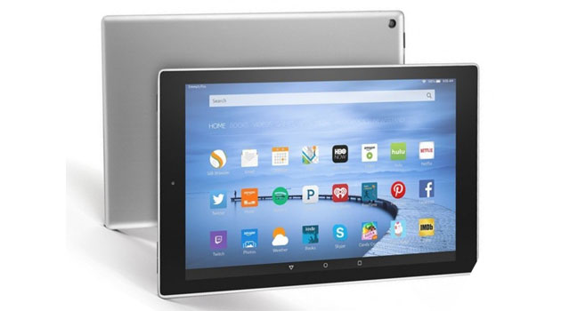 Amazon Fire HD 10 in metallo
