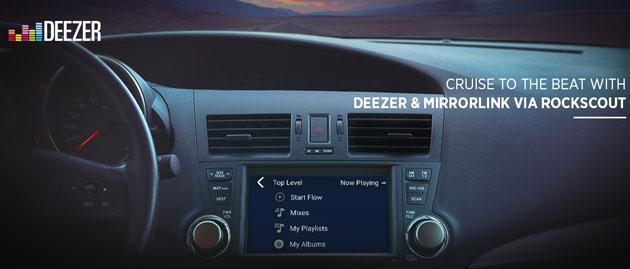 deezer supporta android auto apple carplay mirrorlink. Black Bedroom Furniture Sets. Home Design Ideas