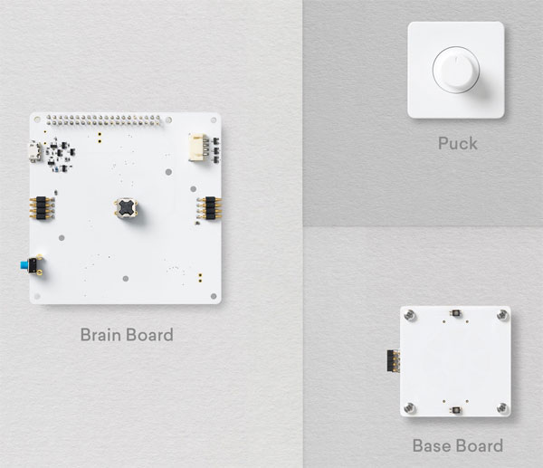 Brain Board - Base Board - Pucks
