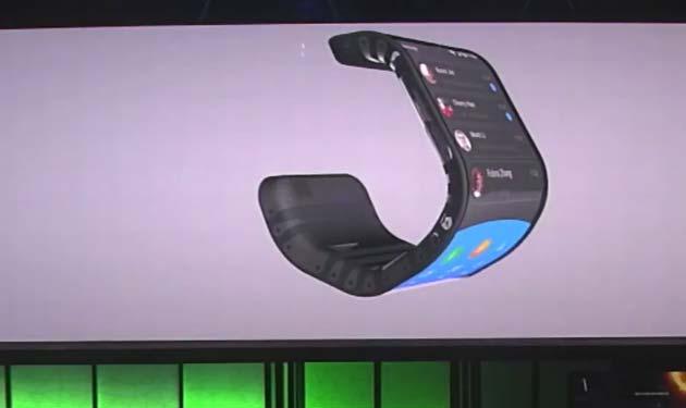 Ecco Lenovo Cplus, lo smartphone flessibile da polso