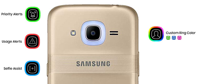 Samsung Galaxy J2 (2016) con Smart Glow
