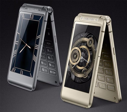 Samsung SM-W2016 clamshell