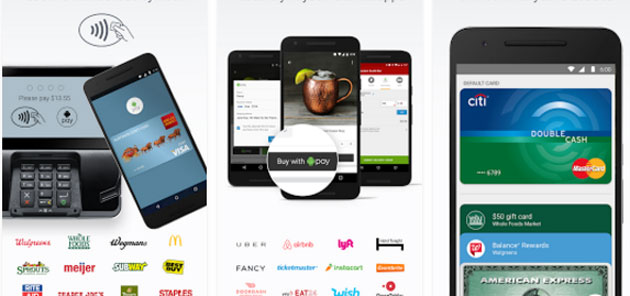 Android Pay - app mobile