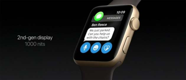 Apple Watch Series 2 - Display nuovo