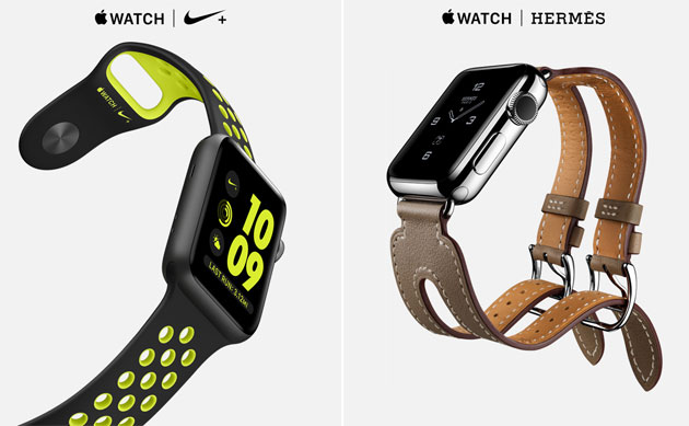 Apple Watch Series 2 - Nike e Hermes Edition